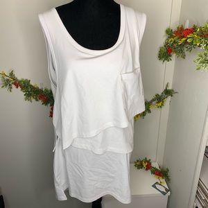 HP⚡️Alexander Wang High Twist Jersey Layered Dress